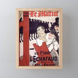 Le Matin Toulouse Lautrec 1893 Framed Mini Art Print