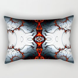 Fractal Art - Fire Arch I Rectangular Pillow