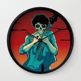 Skullet: The Rocker Wall Clock