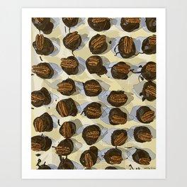Kentucky Bourbon Balls Art Print