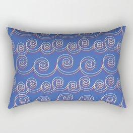 swirlies Rectangular Pillow