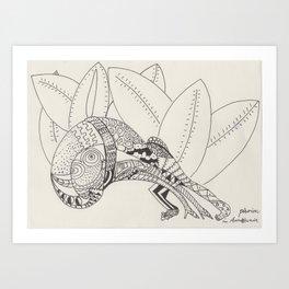 Pasiòn in Amazzonia Art Print