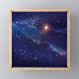 Shine Like the Brightest Star! Framed Mini Art Print