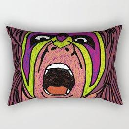 ultimate warrior Rectangular Pillow