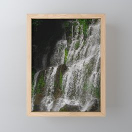 La Calera Waterfalls Framed Mini Art Print