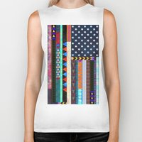 boho Biker Tanks featuring Boho America by Schatzi Brown