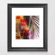 Palm #  ## ## Framed Art Print