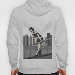 Catwoman on a Ledge  Hoody