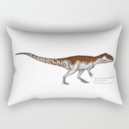 Afrovenator abakensis Rectangular Pillow