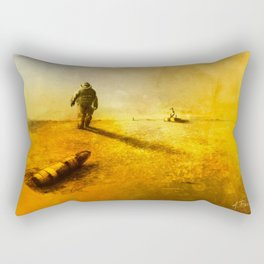 Explosive Ordnance Disposal Rectangular Pillow
