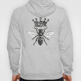 Queen Bee | Black and White Hoody
