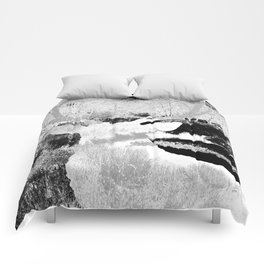 Stag in the shadows Comforters