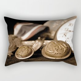 Memories from a Union soldier veterian Rectangular Pillow