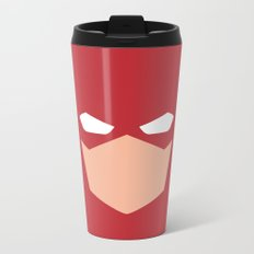 Flash Superhero Metal Travel Mug