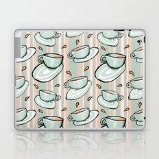 Cups Medley Green Stripes Laptop & iPad Skin