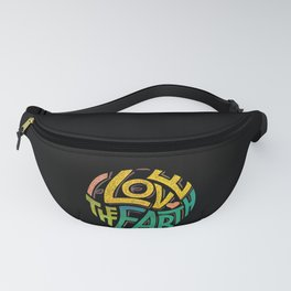 Earthen Words to Live by Fanny Pack