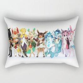 Eeveelution Dolls Rectangular Pillow