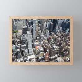 Built up Area Framed Mini Art Print