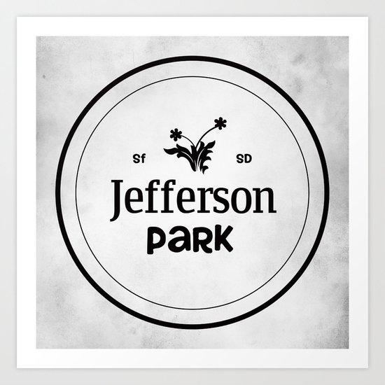 Jefferson Park Art Print