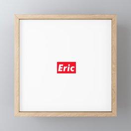 Eric Framed Mini Art Print