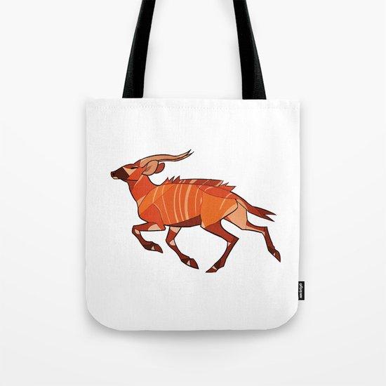 Bongo Antelope Tote Bag