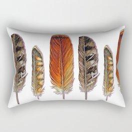 Raptor Feathers Rectangular Pillow