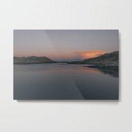 Sunrise in Norway Metal Print