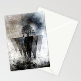 TREES over MAGIC MOUNTAINS II Stationery Cards