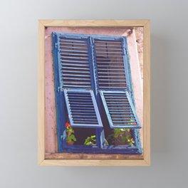 Window on Dubrovnik Framed Mini Art Print