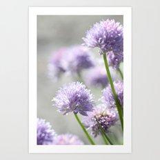 I dreamt of fragrant gardens Art Print