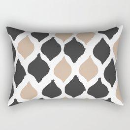twocolors pattern Rectangular Pillow