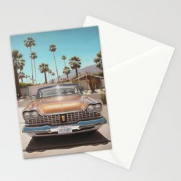 Plymouth In Driveway Stationery Cards