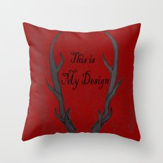 This Is My Design Throw Pillow