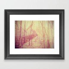 mystical. Framed Art Print