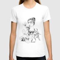 frida kahlo T-shirts featuring Frida Kahlo by eva vasari