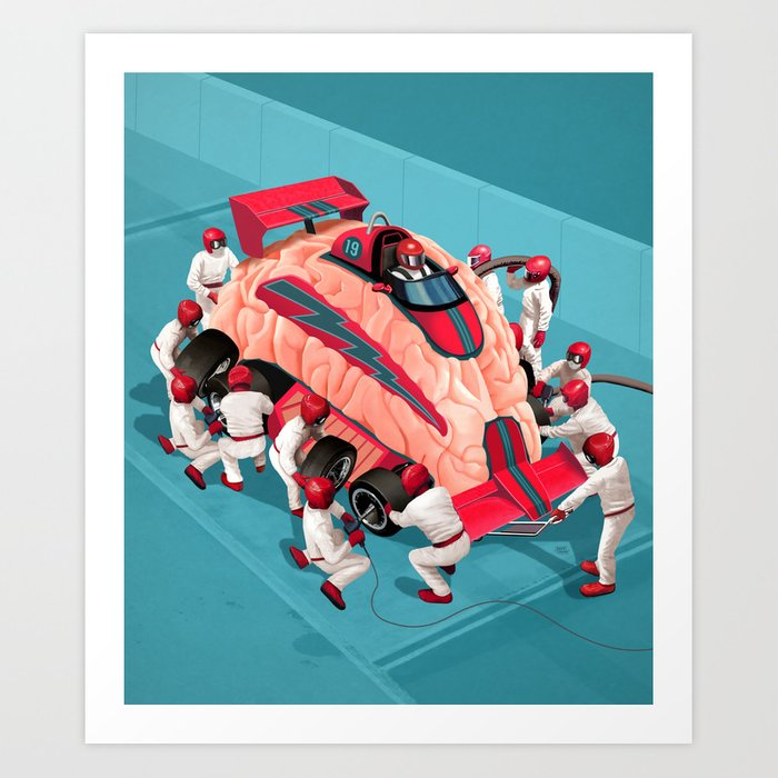 WitStop Art Print