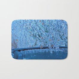 Malibu Icicles Bath Mat