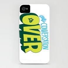 Conversation Over Slim Case iPhone (4, 4s)