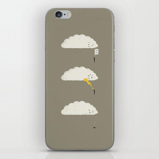 Cloud High Five iPhone & iPod Skin