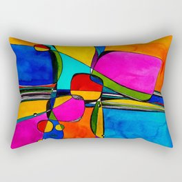 Magical Thinking No. 8 by Kathy Morton Stanion Rectangular Pillow
