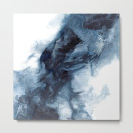Indigo Depths No. 1 Metal Print