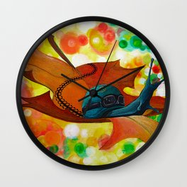 Nature's Come-back Wall Clock