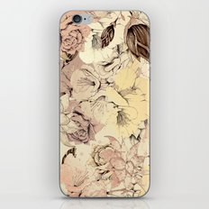 pattern Flowers iPhone & iPod Skin