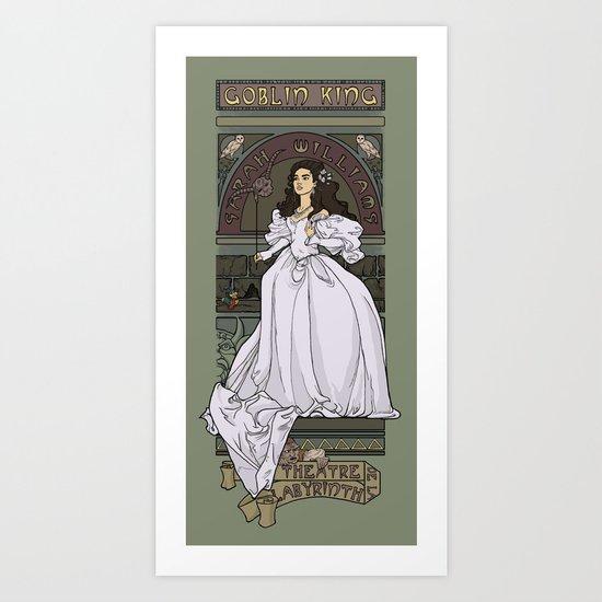 Theatre de la Labyrinth Art Print