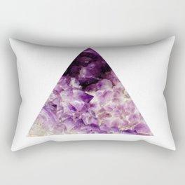 amethyst triangle Rectangular Pillow