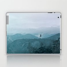 Blue smoky mountains Laptop & iPad Skin