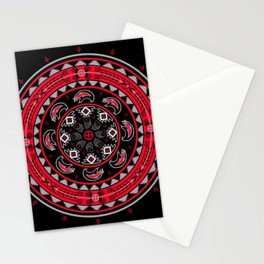 Bear Spirit (Red) Stationery Cards