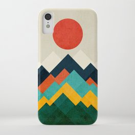 The hills are alive iPhone Case