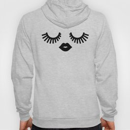 Eyelashes Hoody