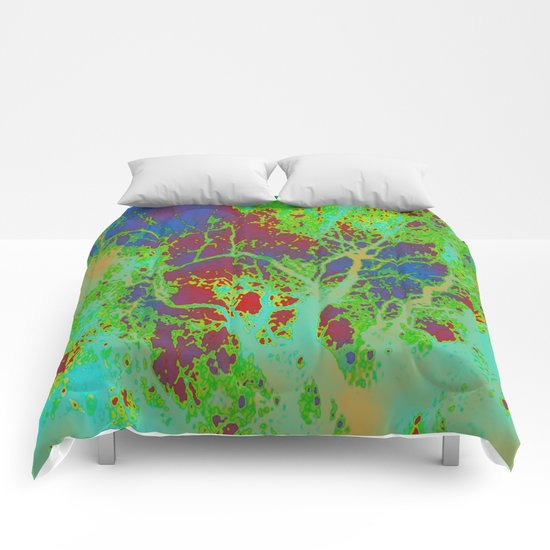 Dotted Leaf  Comforters